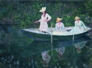 Claude Monet - En Norvegienne