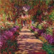 Claude Monet - Path in Monet's Garden, Giverny