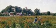 Johannes Boesen - Gathering Wild Flowers