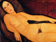 Amedeo Modigliani - Nude on a Divan