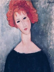 Amedeo Modigliani - Read Head