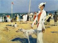 Francois Flameng - The Seaside