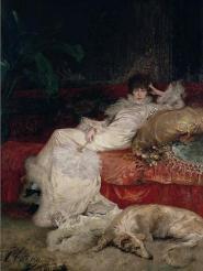 Georges Clairin - Sarah Bernhardt