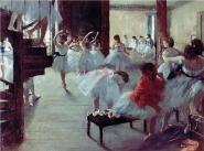 Edgar Degas - School of ballet