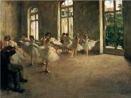 Edgar Degas - The Rehearsal