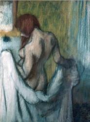 Edgar Degas - After the Bath, 1894