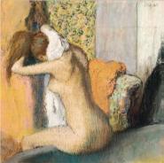 Edgar Degas - After the bath, 1898