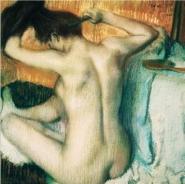 Edgar Degas - Woman Combing Her Hair