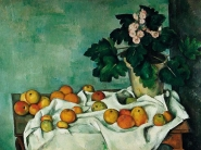 Paul Cezanne - Apples and Primroses