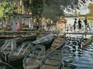 Claude Monet - Bathers at La Grenouillere