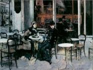 Giovanni Boldini - Conversazione al caffé, Parigi