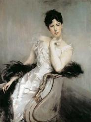 Giovanni Boldini - Signora in bianco