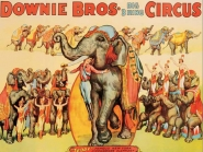 Downie Bros. Big 3 Ring Circus, 1935