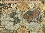 Planiglobii terrestris, 1716