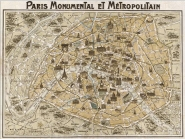 Paris Monumental et Métropolitain, 1932