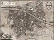Pianta della Città di Firenze, 1847