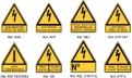Señales Advertencia de Riesgo Triangulares