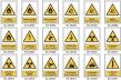 Señales Advertencia de Riesgo Rectangulares