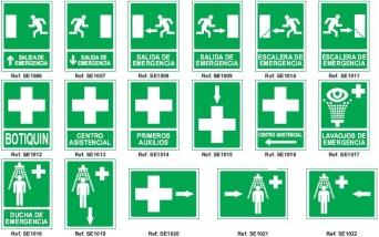 Señales de Salvamento y Vias de Seguridad