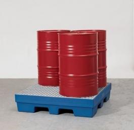 Cubetos de gran capacidad maxi-retencion 1500 y 1200 lt. ''E.M.P''