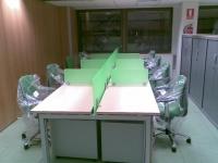 Montaje de oficinas
