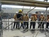 Seguridad durante el uso de andamios