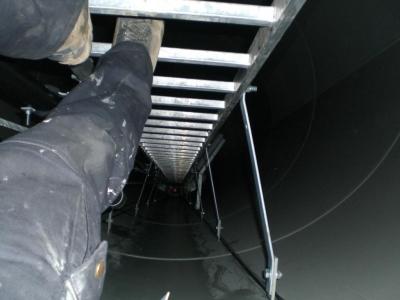 Evacuación y rescate en aerogeneradores