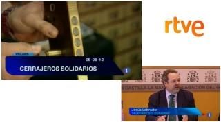 CERRAJEROS SOLIDARIOS - INFORMATIVO TVE EN CASTILLA LA MANCHA