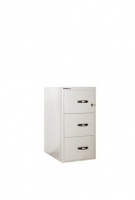 BINDER Fire File 2h - 3 caj , con llave