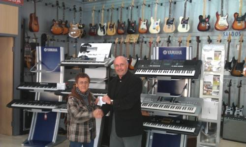 Ya tenemos ganadora del sorteo Musicanarias 50 Aniversario