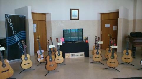 Exposición de guitarras Alhambra