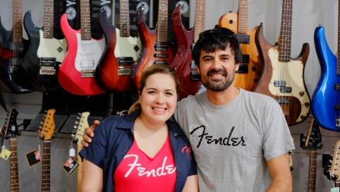 Melisa y Alberto de Fender España