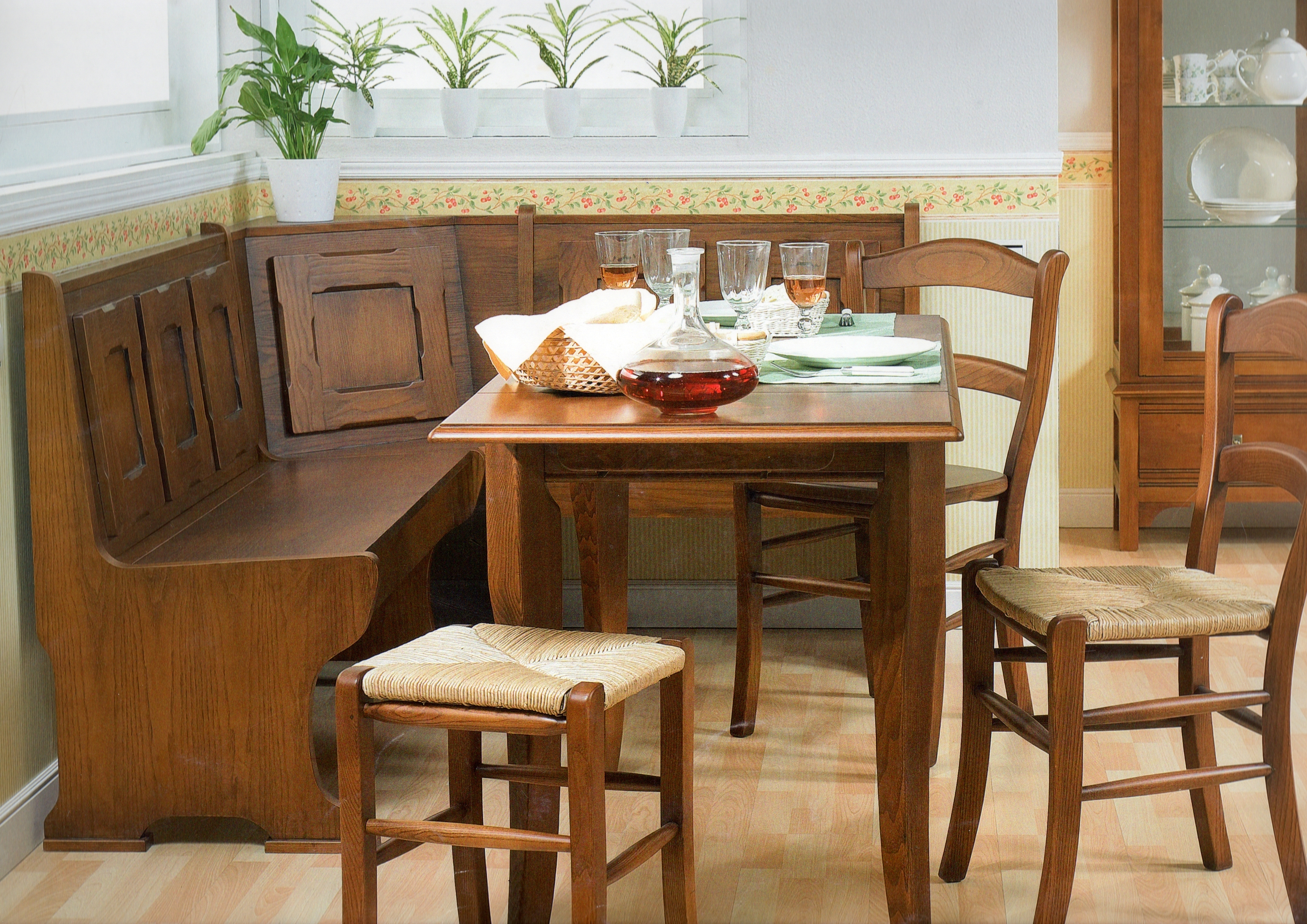 Bancos rinconera muebles ala fabricaci n y venta de - Bancos esquineros para cocina ...