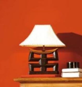 Lámpara asiatica