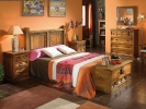 Dormitorio mexicano rustico girasol