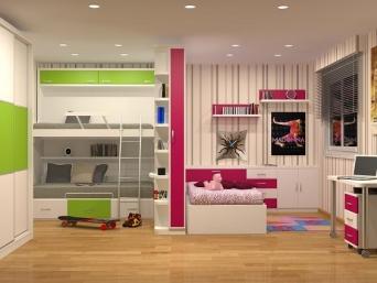 Dormitorios juveniles niño y niña