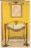 Mueble de baño de forja