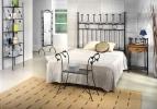 Dormitorio de forja