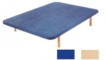 Base tapizada en microfibra