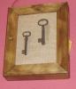 Cuelga llaves rústico