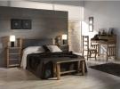 Dormitorio mexicano rustico