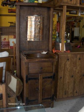 Mueble de ba o r stico el mueble artesano rural - Muebles el artesano ...