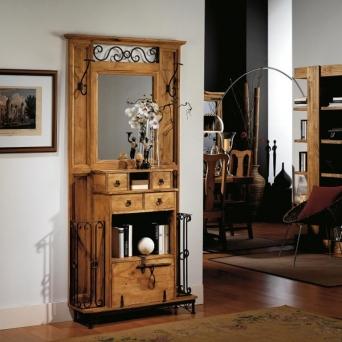 Entradita con forja el mueble artesano rural - Muebles el artesano ...