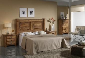 Dormitorio  rustico mexicano
