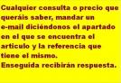 CONSULTAS Y PRECIOS