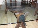 Mesa rustico de fuelle