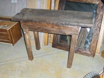 Entradita rustica de traviesas de tren el mueble - Muebles el artesano ...