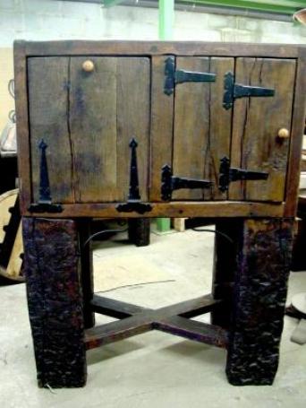 Aparador rustico con patas el mueble artesano rural - Muebles el artesano ...