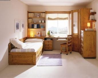 Dormitorio juvenil rustico el mueble artesano rural - Dormitorios juveniles rusticos ...