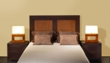 Dormitorio de roble